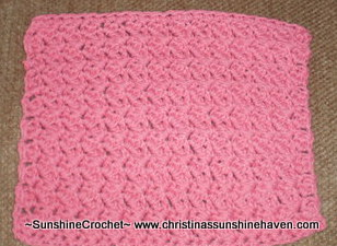 Cascade dishcloth/washcloth
