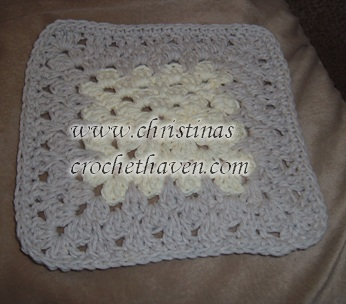 Fancy Granny Dishcloth/Washcloth