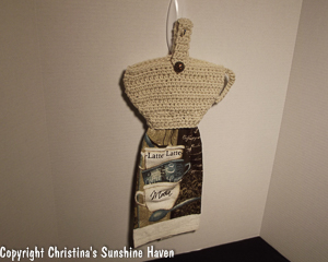 Cup a' Latte Towel Topper